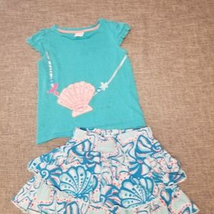 Gymboree girls outfit 4T